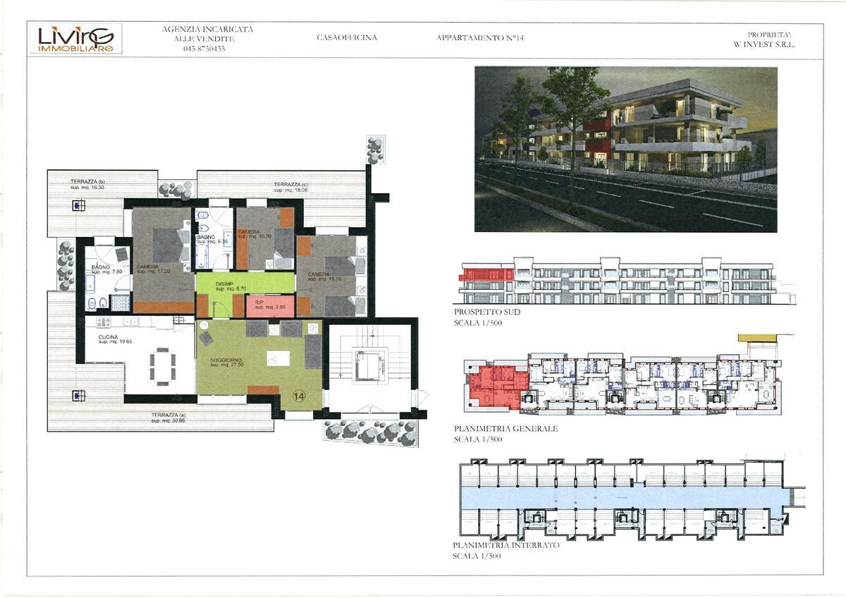 Capitolato - 3 camere Residenziali in vendita - 13