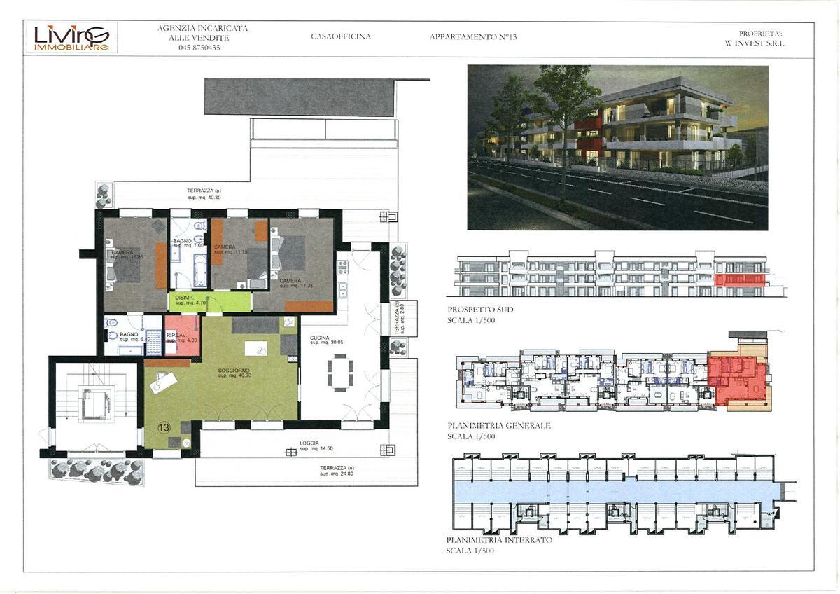Capitolato - 3 camere Residenziali in vendita - 12