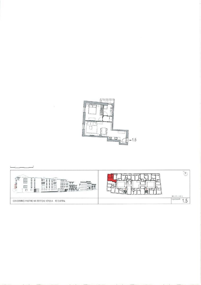 1 camera Residenziali in vendita - 2