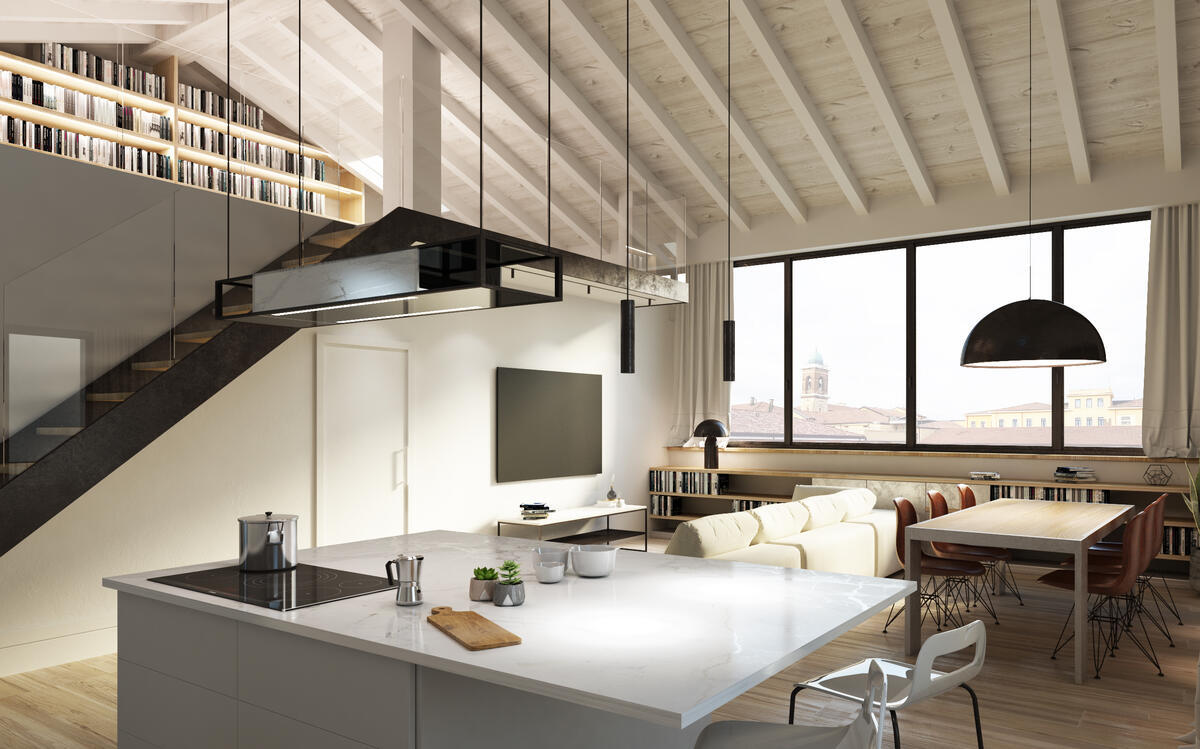 3 camere Residenziali in vendita - 1
