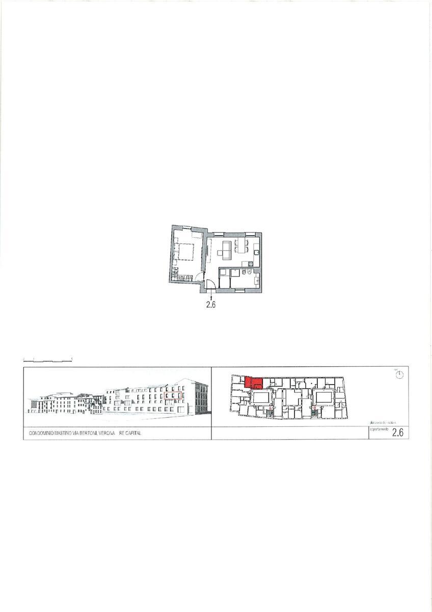 1 camera Residenziali in vendita - 3