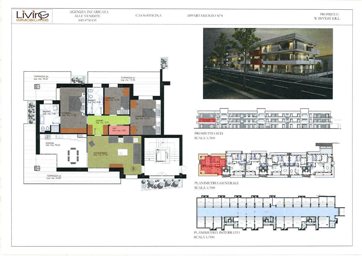 Capitolato - 3 camere Residenziali in vendita - 9
